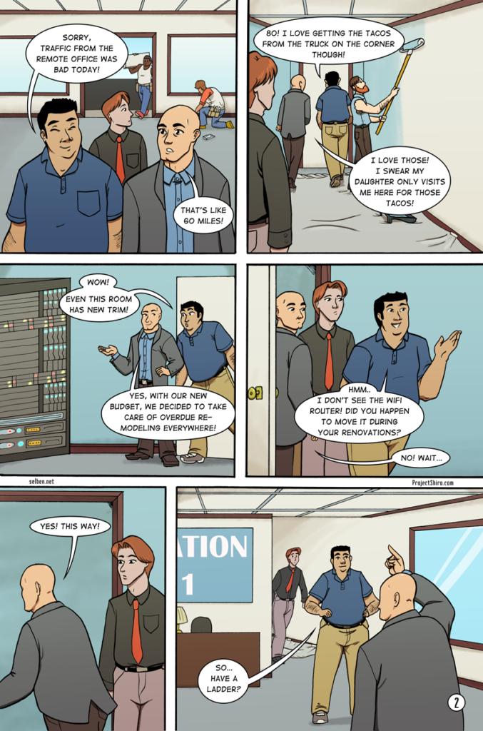 Comic for Wifi Shuffle page 2