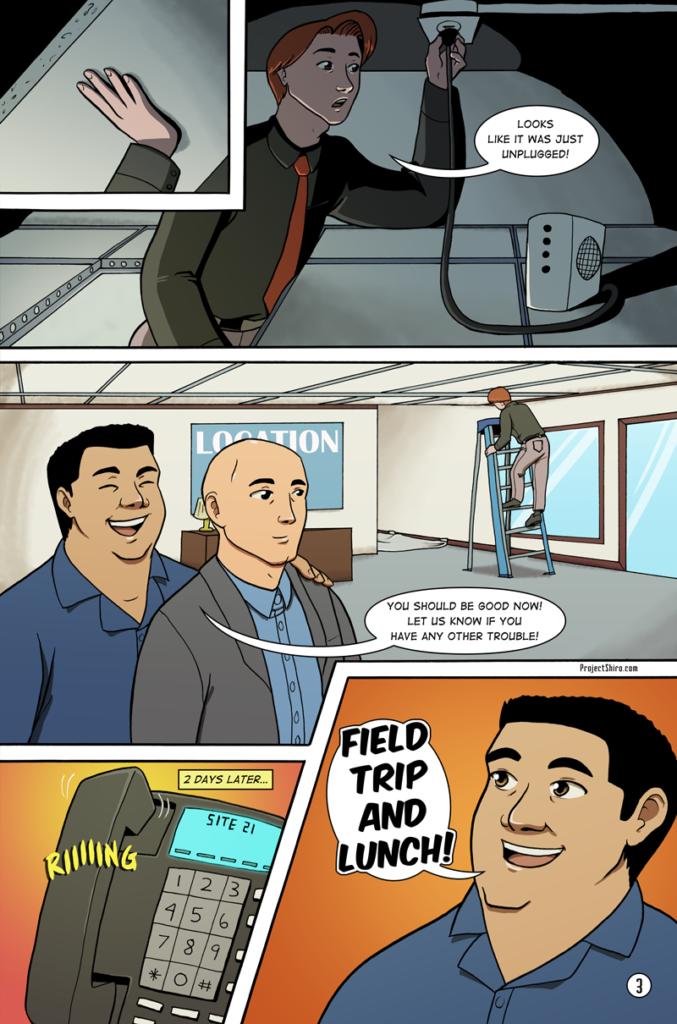 Comic for Wifi Shuffle page 3