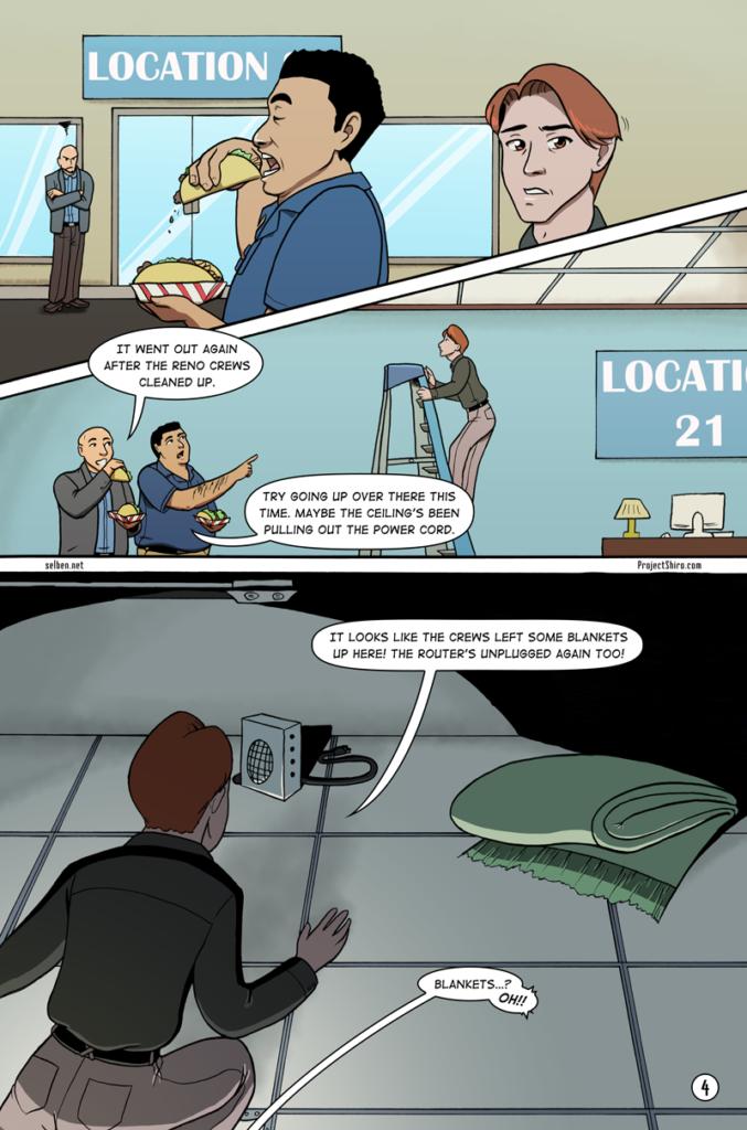 Comic for Wifi Shuffle page 4