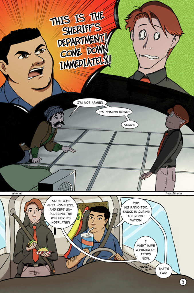 Comic for Wifi Shuffle page 05